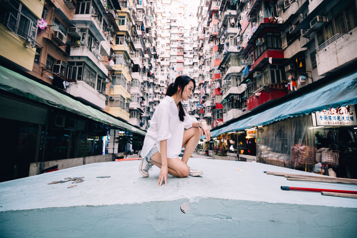 Hong Kong Pre Wedding Photography-Quarry Bay-Monster Building