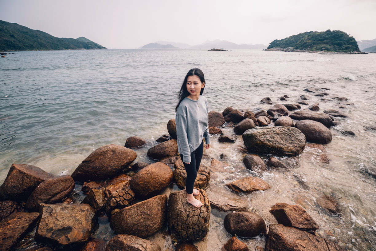 Hong Kong Pre Wedding Photography-Volcanic Lava Flows-Sharp Island (Kiu Tsui Chau)