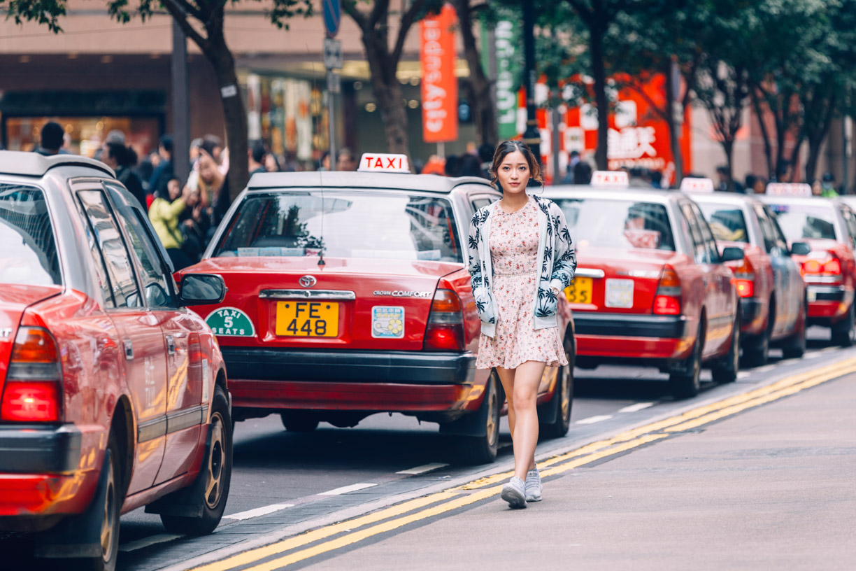 Hong Kong Pre Wedding Photography-Times Square